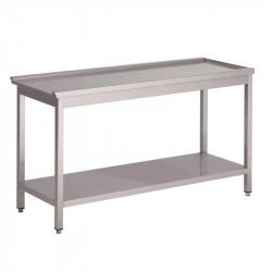 Table de sortie H 850 x L 800 x P 590 mm, pour 'GL896', GASTRO M GASTRO M Accessoires et pièces détachées