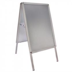 Panneau aluminium, surface : A2, gris métal EQUIPEMENT DIRECT Panneaux et ardoises