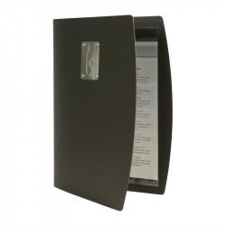 Carte des vins format A4 noir - SECURIT RIO SECURIT Cartes et menus