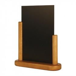 Elégantes ardoises de table, Surface : (H) 210 x (L) 150 mm noir, SECURIT TECK SECURIT Panneaux et ardoises