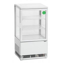 Mini vitrine réfrigérée 58 Litres en plastique - blanc Bartscher Vitrines réfrigérées à poser