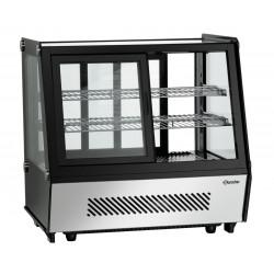 """Vitrine réfrigérée 120 litres, double portes - """"Deli-Cool II D"""" Bartscher Vitrines réfrigérées à poser"""