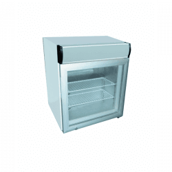 Vitrine négative 50 litres + caisson lumineux DIAMOND Armoires négatives (-18°C-22°C)