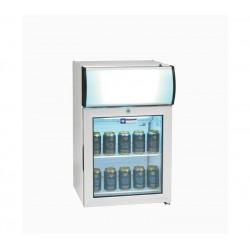 Vitrine 60 litres + caisson lumineux DIAMOND Armoires vitrées