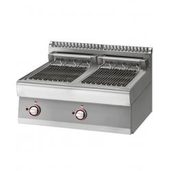 Grill-vapeur électrique, GN 1/1, 2 zones module DIAMOND Grills - Charcoals