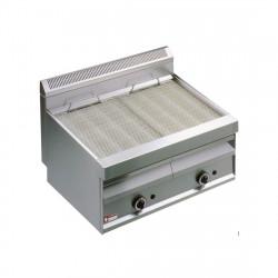 """Grill-vapeur à gaz 2 zones, avec grille de cuisson en """"O"""" DIAMOND Grills - Charcoals"""