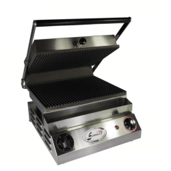 Grill simple lisse Spécial grillades - 400 V, 4500 W Sofraca Paninis