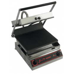 Grill panini lisse simple - 230 V, 3000 W Sofraca Paninis