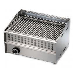 Grill à gaz, surface de cuisson : 530 x 350 mm - brûleur haute qualité Sofraca Grills - Charcoals