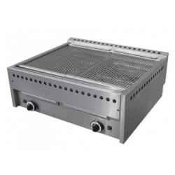 Grill à gaz, surface de cuisson : 720 x 540 mm - brûleur haute qualité Sofraca Grills - Charcoals