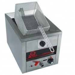 Friteuse simple - 400 V, 3500 W - 7 litres - COMPACT LINE 500 Sofraca Friteuses à poser
