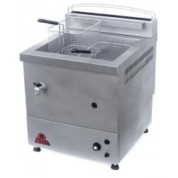 Friteuse forainedouble à GAZ GN, Spécial surgelés - 10 litres - avec robinet de vidange Sofraca Friteuses GAZ