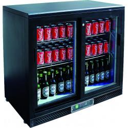 Arrière-bar 2 portes coulissantes 208 Litres EQUIPEMENT DIRECT Arrières-bar