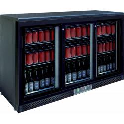 Arrière-bar 3 portes coulissantes 330 Litres EQUIPEMENT DIRECT Arrières-bar
