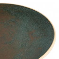 Lot de 6 assiettes coupes Ø 270 mm, vert bronze - CANVAS OLYMPIA Collection Canvas