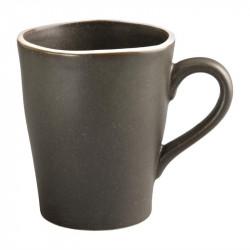 Lot de 6 mugs 340 ml, gris - CHIA OLYMPIA Collection Chia