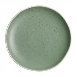 Lot de 6 assiettes plates Ø 205 mm, vert - CHIA OLYMPIA Collection Chia
