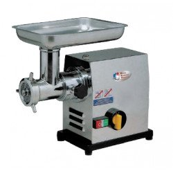 Hachoir simple 400 V - 750 W - 150 Kg / h - inox MATERIEL ALIMENTAIRE PRODUCTION Hachoirs