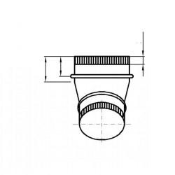 STL Manchon pour hottes 900 et 1000 mm Bartscher Accessoires et pièces détachées
