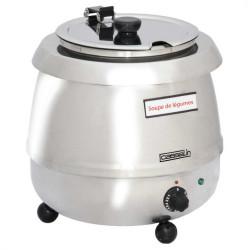 Soupière 9 litres électrique Inox CASSELIN Soupières