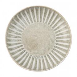 Lot de 6 assiettes plates Ø 205 mm - Corallite OLYMPIA Collection Corallite