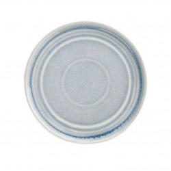 Lot de 6 assiettes plates Ø 180 mm, bleu crystallin - cavolo OLYMPIA Collection Cavolo