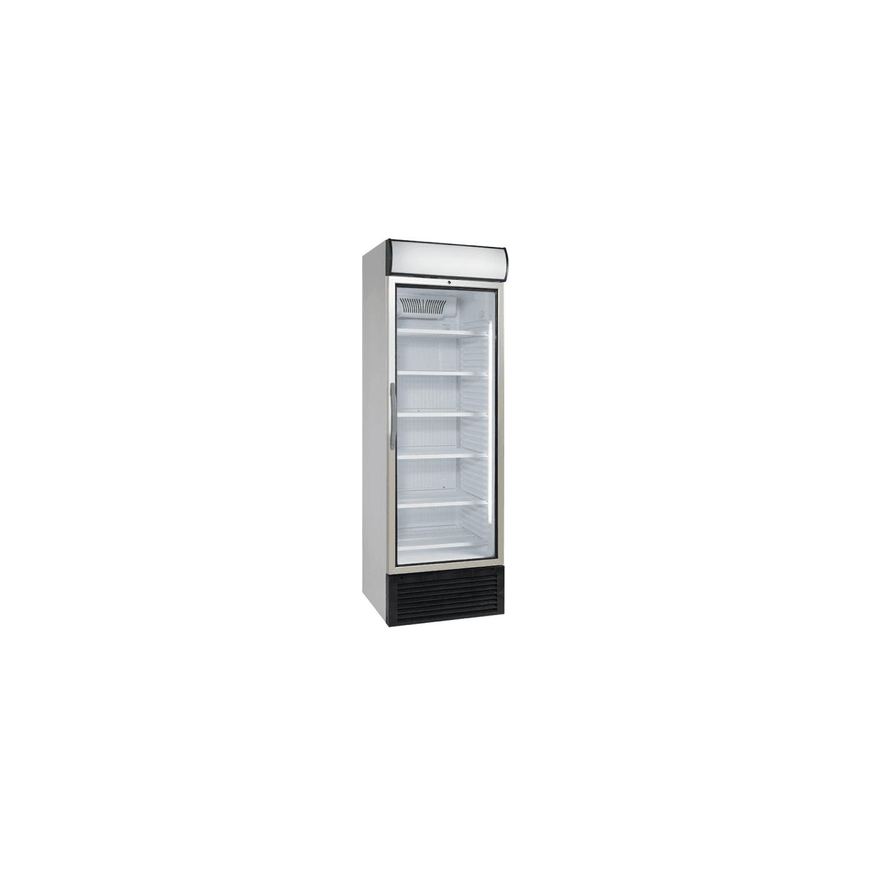 Vitrine positive 500 litres ventilée + bandeau lumineux DIAMOND Armoires vitrées