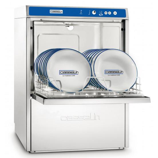 Lave-vaisselle Double paroi + pompe de vidange intégrée CASSELIN Laves-Vaisselles Pro