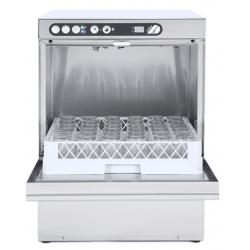 Lave-vaisselle 500 x 500 mm + adoucisseur intégré + vidange par gravité ADLER Laves-Vaisselles Pro
