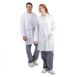 Blouse mixte blanche - Taille S WHITES CHEFS APPAREL Tenues