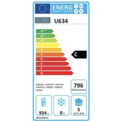 Armoire positive 1300 Litres tout inox double porte Tropicalisée POLAR Armoires positives (+1°C+6°C)