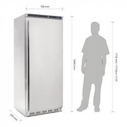 Armoire réfrigérée 600 Litres positive inox Pro POLAR Armoires positives (+1°C+6°C)