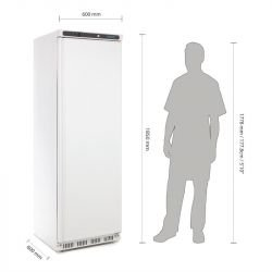 Armoire réfrigérée 400 Litres positive Pro POLAR Armoires positives (+1°C+6°C)