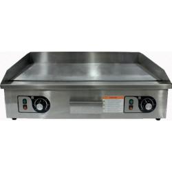 Plancha électrique lisse - 4400 W - Surface inox : 730 x 400 mm EQUIPEMENT DIRECT Planchas