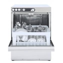Lave-verres 350 x 350 mm - vidange par gravité - inox  ADLER Laves-Verres Pro