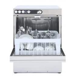 Lave-verres 350 x 350 mm - pompe intégré - inox  ADLER Laves-Verres Pro