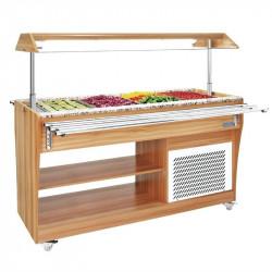 Buffet réfrigéré central 4 x GN1/1 POLAR Buffet libre-service