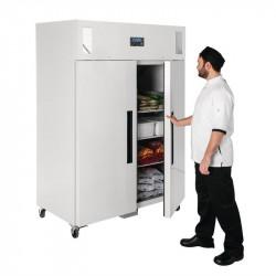 Congélateur 1200 Litres PRO 2 portes POLAR Armoires négatives (-18°C-22°C)