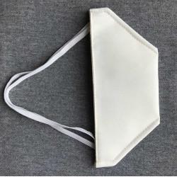 """Masque de protection """"canard"""" lavable catégorie 1 - Blanc EQUIPEMENT DIRECT Masques Homologués"""