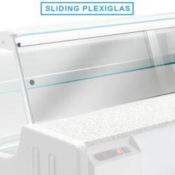 Plexiglass pour vitrine Orleans DIAMOND Accessoires pour vitrines réfrigérées