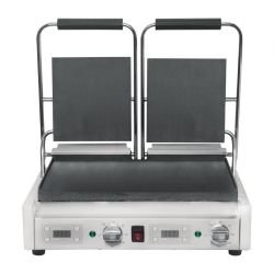 Grill panini double 2900 W, entièrement lisse BUFFALO Paninis