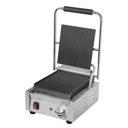 Grill panini simple, 1500 W, lisse/lisse BUFFALO Paninis