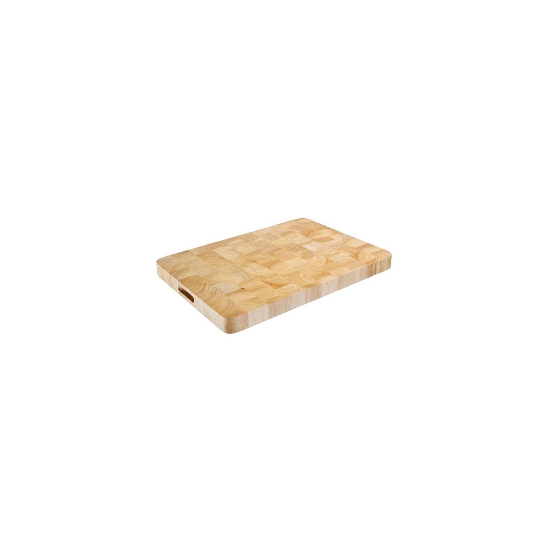 Planche à découper rectangulaire en bois - 610 x 455mm VOGUE Planches à découper