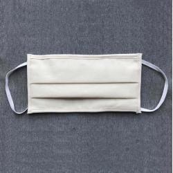 Masque de protection 3 plis lavable catégorie 1 - Blanc EQUIPEMENT DIRECT Masques Homologués