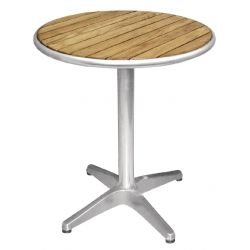 Table ronde de bistro Ø 600 mm, bois, Bolero BOLERO Tables