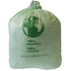 Lot de 20 grands sacs 90 L compostable - JANTEX JANTEX Sacs poubelle