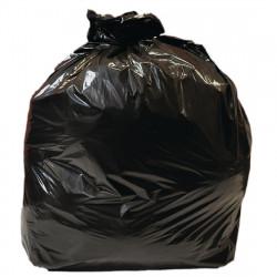 Lot de 10 sacs poubelle 90 L noirs - JANTEX JANTEX Sacs poubelle