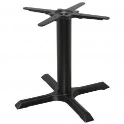 Pied de table basse en fonte, noir, Bolero BOLERO Pieds de tables