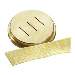 """Matrice pâtes """"Pappadelle"""" Ø 16 mm, bronze Bartscher Accessoires et pièces détachées"""