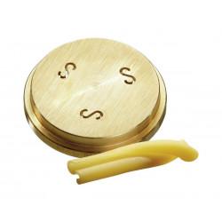 """Matrice pâtes """"Caserecce"""" Ø 9 x 5 mm, bronze Bartscher Accessoires et pièces détachées"""